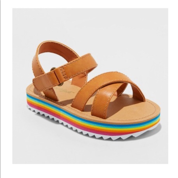 e88e17174e8 Cat   Jack Rainbow Sandals Annona Cognac VARIOUS